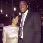 Thaddeus Young with wife his Shekinah Young