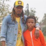 Tramon Williams with son Tramon Williams Jr