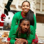 Tramon Williams with wife Shantrell Moore Williams