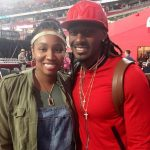 Tramon Williams with wife Shantrell Williams