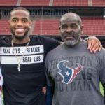 kareem Jackson with father