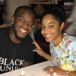 kareem Jackson with wife Amber Deville