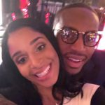kareem Jackson with wife Amber Deville image