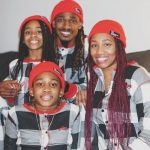 tramon Williams with wife and kids