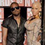 Amber Rose with ex-boyfriend Kanye West