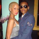 Amber Rose with his ex-partner Trevon Haynes