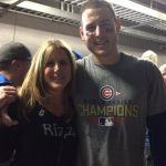 Anthony RIzzo with his mother Laurie Rizzo