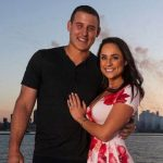 Anthony RIzzo with his wife Emily Vakos