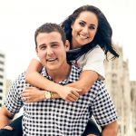 Anthony RIzzo with wife Emily Vakos