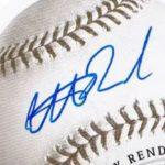 Anthony Rendon signature