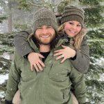 Brandon Crawford with his wife Jalynne Crawford