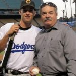Danny Duffy with his father Dan Duffy