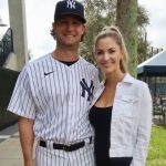 Gerrit Cole with his wife Amy Cole
