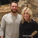 Greg Holland with wife Lacey Canada Holland