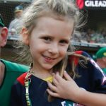 Jed Lowrie's daughter Saige Lowrie