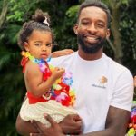 Jeff Green with his daughter Jasmine Green