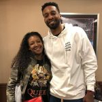 Jeff Green with his sister Mia Young