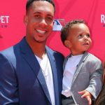 Michael Brantley with his son Maxwell Brantley