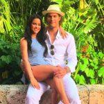 Robin Lopez with girlfriend Christine Vergas