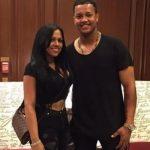 Starklin castro with his ex-girlfriend Yoselin