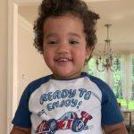 Starlin Castro's son Sterling Castro