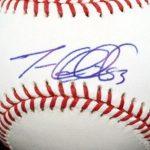 Trevor Cahill signature