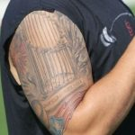 Yadier Molina right arm tattoo