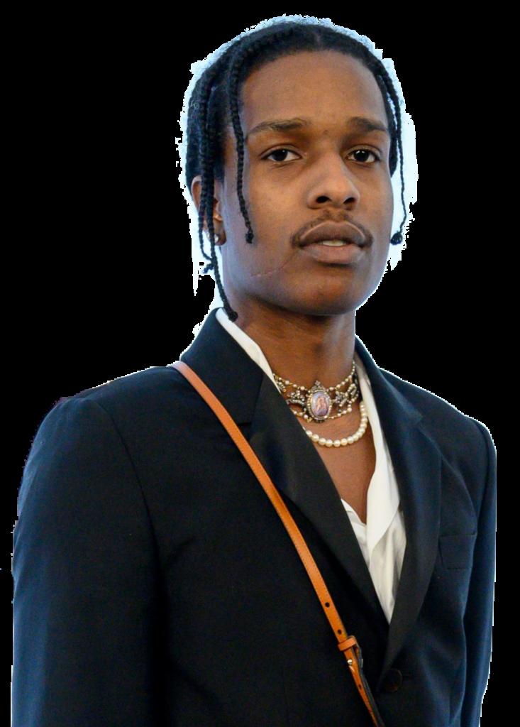 ASAP Rocky transparent background png image
