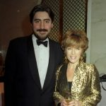 Alfred Molina with his wife Jill Gascoine