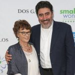 Alfred Molina with his wife Jill Gascoine image