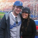 Alyssa Milano with her brother Cory Milano