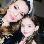 Alyssa Milano with her daughter Elizabella Dylan Bugliari