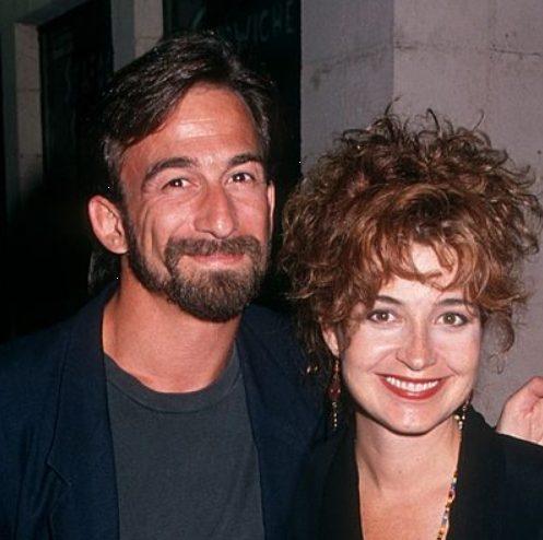 Annie Potts with her husband James Hayman   Celebrities InfoSeeMedia