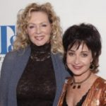 Annie Potts with her sister Mary Eleanor Hovious