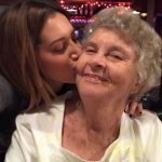 Ashley Tisdate with her maternal grandmother
