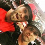 Bryce Harper with his brother Bryan Harper