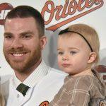 Chris Davis with his daughter Ella Davis