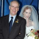 Christina Hendricks with her father Robert Hendricks