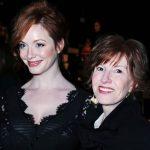Christina Hendricks with her mother Jackie Sue