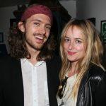 Dakota Johnson with brother Alexander Bauer
