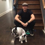 Donnie Wahlberg with his pets