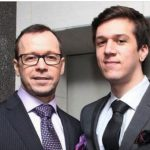 Donnie Wahlberg with his son Xavier Alexander Wahlberg