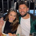 Eric Hosmer with his wife Kacie McDonnell