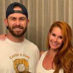 Evan Longoria with his wife Jaime Faith Edmondson