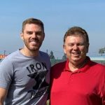 Freddie Freeman with his father Fred Freeman