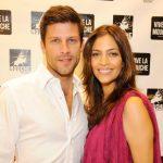 Greg Vaughan with ex-wife Touriya Haoud