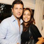 Greg Vaughan with his ex-wife Touriya Haoud