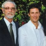 Greg Vaughan with his father James Gregory Vaughan Sr.