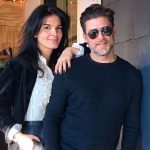 Greg Vaughan with his girlfriend Angie Harmon