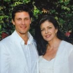Greg Vaughan with his mother Barbara Ann Alt